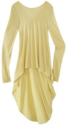 labworks Long-Sleeve V-Back Tunic Top - Assorted Colors