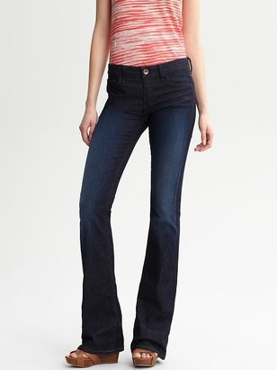 Banana Republic Dark wash flared jean