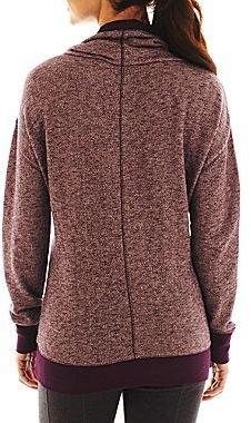 JCPenney Xersion Cowlneck Sweatshirt - Talls