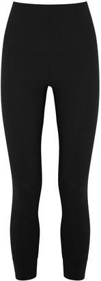High Halt Black Stretch-jersey Leggings
