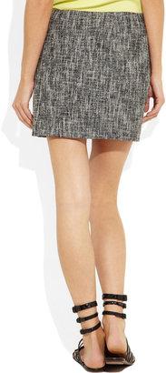 Theory Cosmita tweed mini skirt