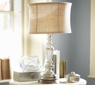 Pottery Barn Leera Antique Mercury Glass Table Lamp Base