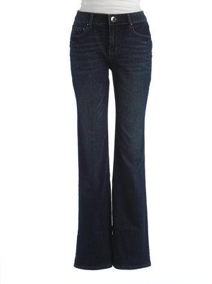 DKNY Womens Plus-Size Soho Boot Leg Jeans