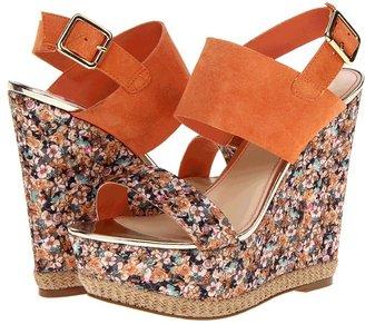 Betsey Johnson Betey Johnon Rambling Women' Wedge Shoe