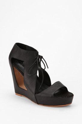 Matiko Paris Lace-Up Wedge Sandal