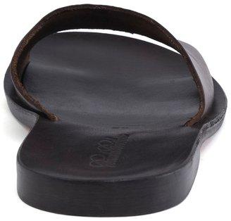 Brooks Brothers Leather Slide Sandals