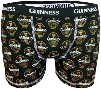 Guinness Official Merchandise Foreign Extra Label Shorts with Fly Men's Boxers Black Small