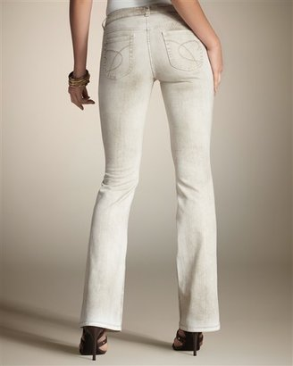 Chico's Platinum Denim Barely Flare Leg Jean