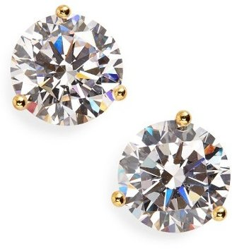 Women's Nordstrom Precious Metal Plated 4Ct Tw Cubic Zirconia Earrings $52 thestylecure.com