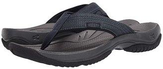 Keen Kona Flip (Black/Steel Grey) Men's Sandals