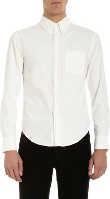 Band Of Outsiders Colored Stitch Placket Shirt