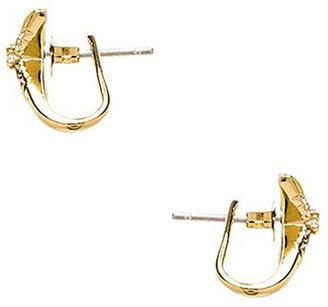 Elizabeth and James Vida Ear Cuff in Metallic Gold.