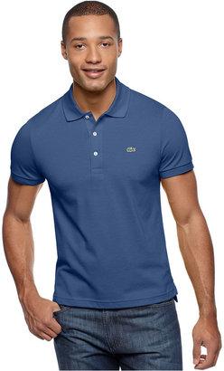 Lacoste Polo Shirt, Slim Fit Pique Polo
