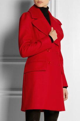 Alexander McQueen Wool and cashmere-blend felt coat