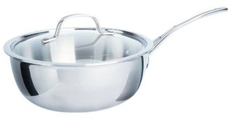 Calphalon 3 Quart Tri-Ply Stainless Steel Chef's Pan w/ Cover