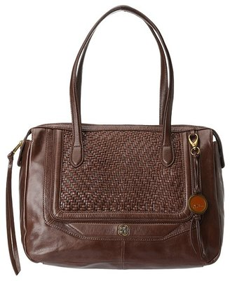 Elliott Lucca Bali '89 Square Tote (Aztec Walnut) - Bags and Luggage