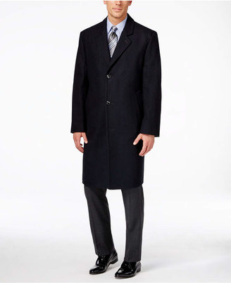 London Fog Big and Tall Signature Wool-Blend Overcoat $375 thestylecure.com