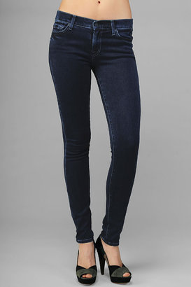 7 For All Mankind The Skinny In Dark Rich Sateen
