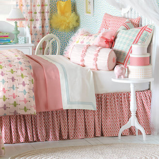 Pirouette Maggie Pink Bed Skirt