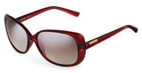 Calvin Klein Plastic Oversized Sunglasses
