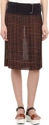A.L.C. Pleated Surrey Skirt