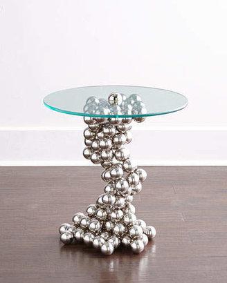 Global Views Raquel Sphere Side Table