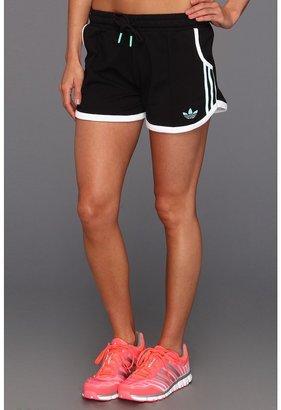 adidas Summer Short (Black/White/Joy Green) - Apparel