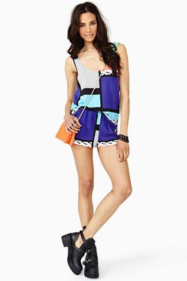 Nasty Gal Pattern Play Tank