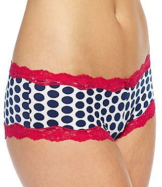 Maidenform Scalloped Lace Cheeky Panties 40823