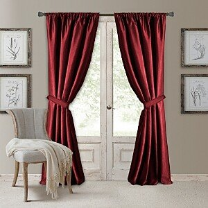 Elrene Home Fashions Versailles Blackout Window Panel, 52 x 84