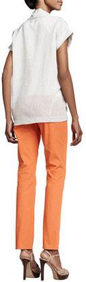 Lafayette 148 New York Curvy Slim Jeans, Bubble