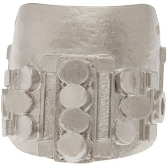 Palladium Delphine-Charlotte Parmentier finger tip ring