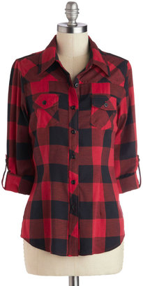 Simply Scout Top in Red