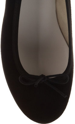 Repetto Noma leather wedge pumps