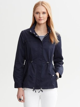 Banana Republic Cinch-Waist Anorak