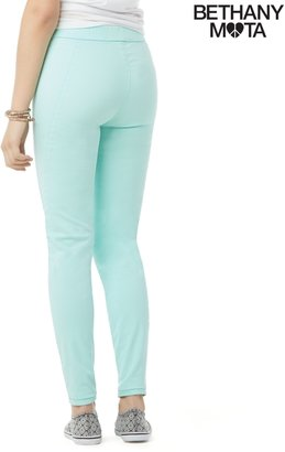 Aeropostale High-Waisted Color Wash Pull-On Jegging