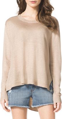 MICHAEL Michael Kors High-Low Knit Sweater