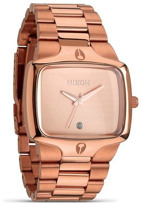 Nixon The Player All Rose Gold Watch, 40mm