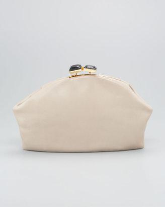 Marni Oversized Leather Clutch Bag