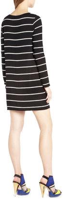 BCBGMAXAZRIA Jonesy Boatneck Dress