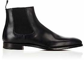 Crockett Jones Crockett & Jones Men's Lingfield Chelsea Boots - Black,M