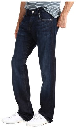 7 For All Mankind Austyn Relaxed Straight 36 Long in Los Angeles Dark Men's Jeans