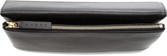 Marni Leather Foldover Pochette