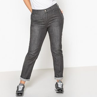 La Redoute Collections Plus Regular Fit Straight Jeans