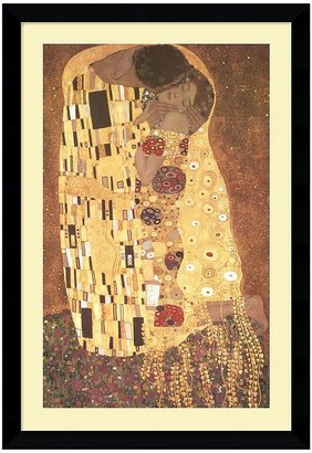 "Amanti art ""The Kiss (Le Baiser / Il Baccio), 1907"" Framed Art Print by Gustav Klimt"