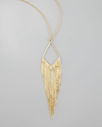 Jules Smith Designs Coachella Chain-Fringe Necklace