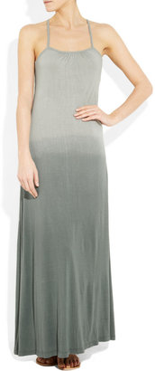 Tara Matthews Tolla ombré cotton-jersey dress