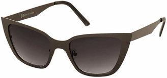 Cat Eye Sleek Metal Cateye Sunglasses