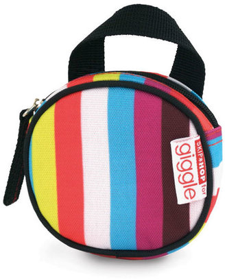 giggle Better Basics Striped Pacifier Pocket