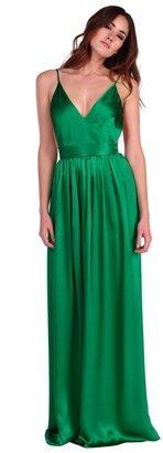 Contrarian Babs Bibb Maxi in Emerald